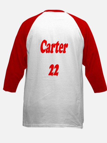 Personalized Kids Baseball Jersey/Red