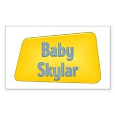 Baby Skylar Rectangle Decal