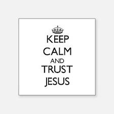 Keep Calm and TRUST Jesus Sticker