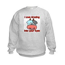 Grazing Into Your Eyes Sweatshirt