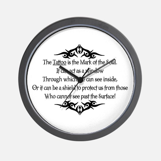 The Tattoo is the Mark of the Wall Clock