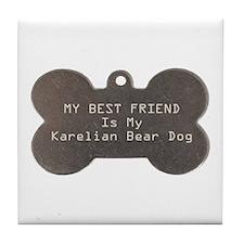Karelian Friend Tile Coaster
