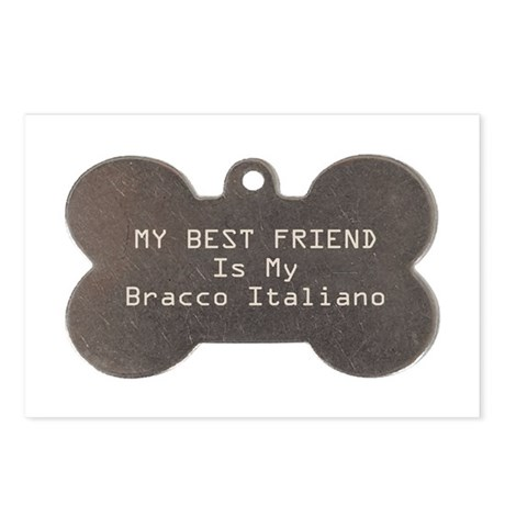 Bracco Friend Postcards (Package of 8)