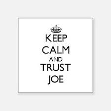 Keep Calm and TRUST Joe Sticker