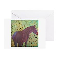 Unique Icelandic pony Greeting Cards (Pk of 10)