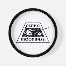 ALPHA MOONBASE Wall Clock
