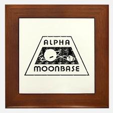 ALPHA MOONBASE Framed Tile