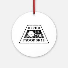 ALPHA MOONBASE Ornament (Round)