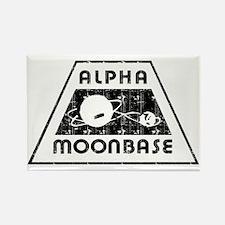 ALPHA MOONBASE Rectangle Magnet