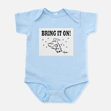 Winter: Bring it on! Infant Bodysuit