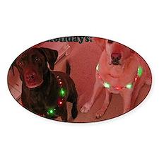 Christmas Lights Decal