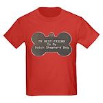 Shepherd Friend Kids Dark T-Shirt