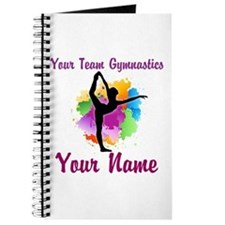 Customizable Gymnastics Team Journal