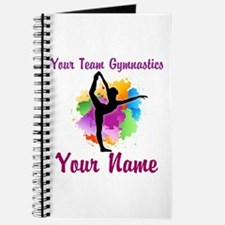Customizable Gymnastics Team Journal