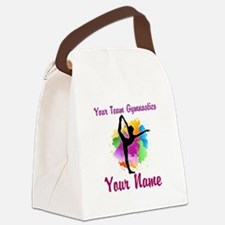 Customizable Gymnastics Team Canvas Lunch Bag