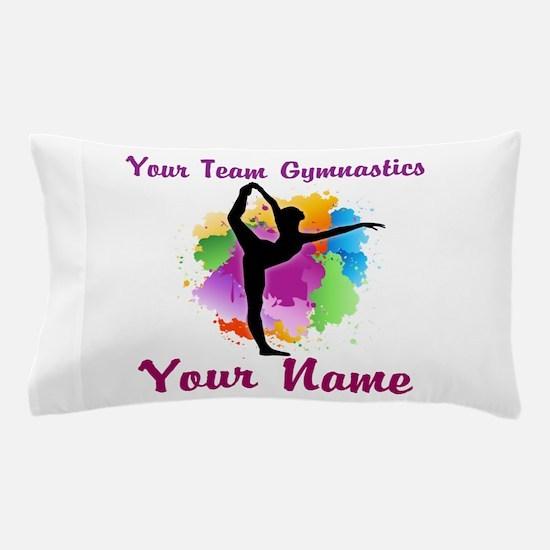 Customizable Gymnastics Team Pillow Case