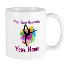 Customizable Gymnastics Team Mugs