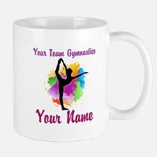 Customizable Gymnastics Team Mugs