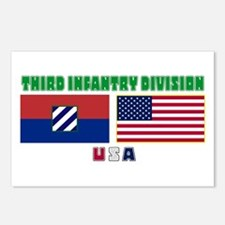 NEW! 3ID USA - Postcards (Package of 8)