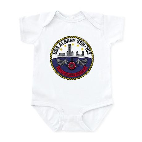 USS ALBANY Infant Bodysuit