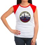 USS ALBANY Women's Cap Sleeve T-Shirt