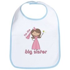 i'm the big sister princess Bib