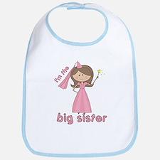 i'm the big sister princess Bib