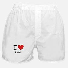 I love pato  Boxer Shorts