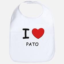 I love pato  Bib