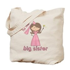 i'm the big sister princess Tote Bag