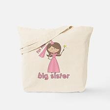 i'm the big sister princess Tote Bag