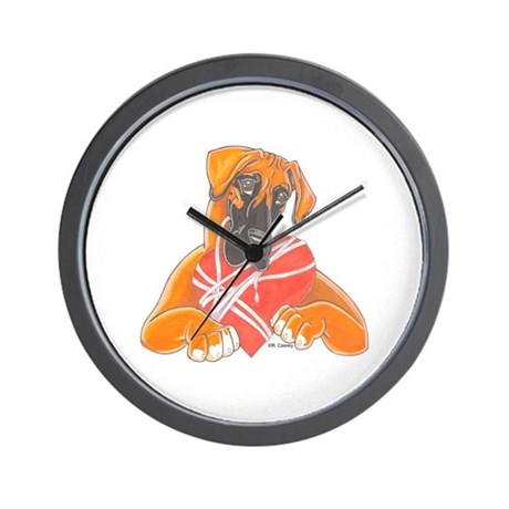 NFwW Heartstrings Wall Clock