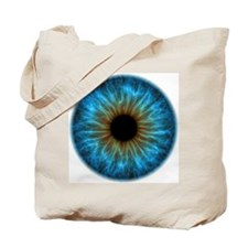 Eye, iris Tote Bag
