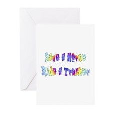 Save A Horse Ride A Trucker Greeting Cards (Packag
