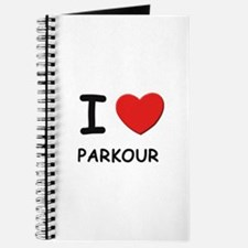 I love parkour Journal