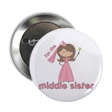 i'm the middle sister Button