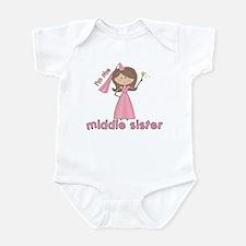 i'm the middle sister Infant Bodysuit