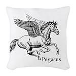 Pegasus Woven Throw Pillow