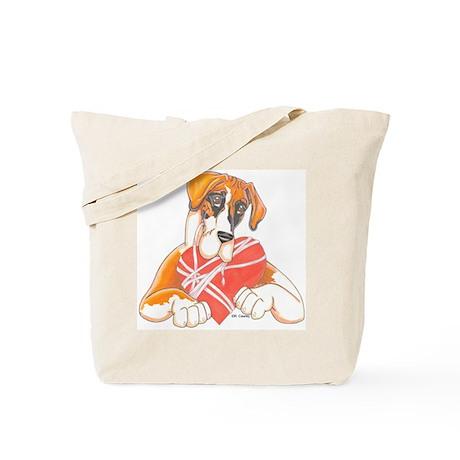N MtlF Heartstrings Tote Bag