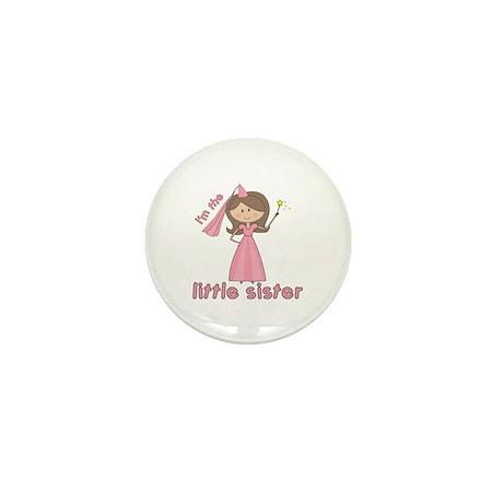 i'm the little sister princess Mini Button