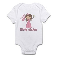 i'm the little sister princess Infant Bodysuit