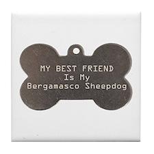 Bergamasco Friend Tile Coaster