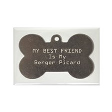 Berger Friend Rectangle Magnet (100 pack)
