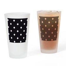 Polka Dots Drinking Glass