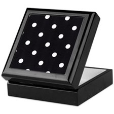 Polka Dots Keepsake Box