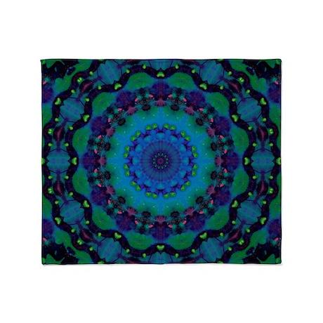 Mellow Art Mandala Throw Blanket