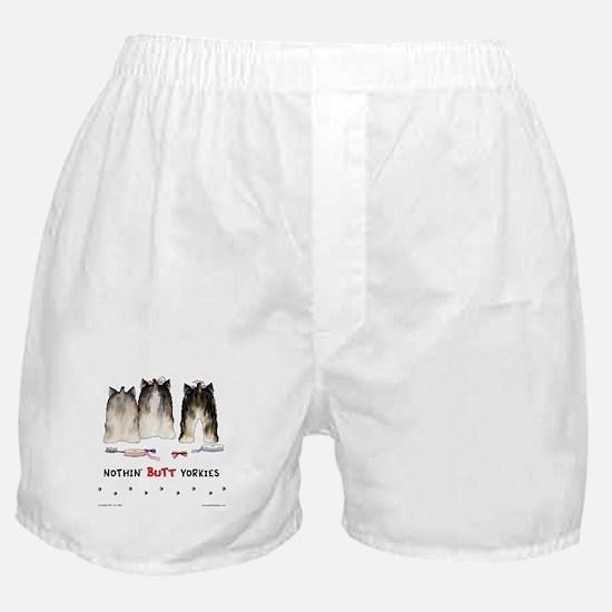 Nothin' Butt Yorkies Boxer Shorts