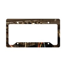 Sound system License Plate Holder
