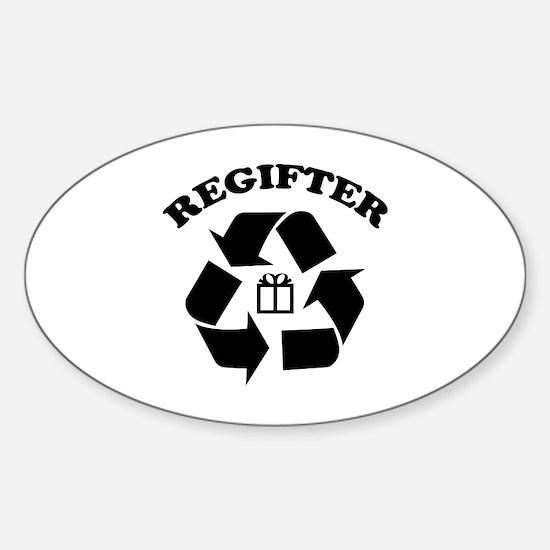 Regifter Sticker (Oval)