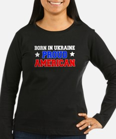Proud American Ukrainian Long Sleeve T-Shirt